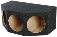 Q Power BASS12 3 Hole 12-Inch Sealed Subwoofer Enclosure Box | 35 X 20.25 X 15