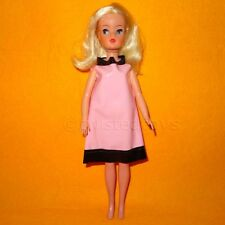 VINTAGE 1970s TRENDY GIRL SINDY DOLL 033050X HARD HEAD HONG KONG + DRESS RARE