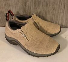 Merrell Air Cushion Hemp Moc Natural Slip On Shoes Womens Size 7.5