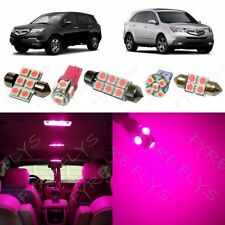 21x Hot Pink LED lights interior package kit for 2001-2013 Acura MDX +Tool AM2P