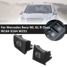 Left Driver Window Switch Caps Cover for Mercedes Benz ML GL R Class 2518300390