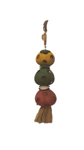 Bird Toy Abaca Natural Parrot shell cuttlebone bamboo coconut nest traffic light