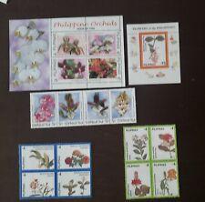Philippines stamp  Souvenir sheet mint never  hinged original gum ORCHIDS