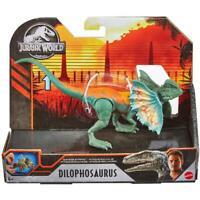 Jurassic World Toys Savage Strike DILOPHOSAURUS Dino Rivals  Mattel New