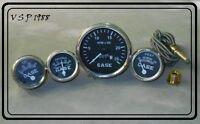 Case Tractor Temperature,Tachometer, Ammeter, Oil Gauge Set