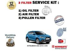 FOR MITSUBISHI ASX 1.6 MiVEC 2010-> SERVICE KIT OIL AIR POLLEN FILTER SET