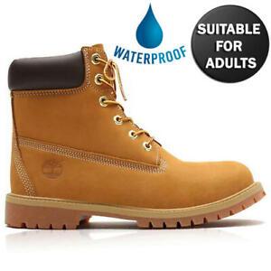 Timberland 6 Inch Premium Womens Girls Boys Waterproof Boots Adult Sizes 3-6.5
