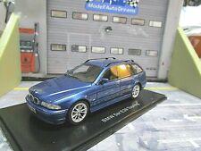 BMW 5er Reihe 528i E39 Touring Kombi 2000 - 2004 blau blue met. NEO Resin  1:43