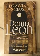 Donna Leon Drawing Conclusions Hardback 1st uK Edition Signed