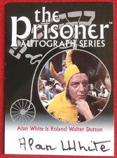 THE PRISONER Volume 1 - ALAN WHITE Autograph Card - Cards Inc 2002 - PA16