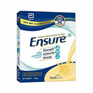 Complete NutritionDrink for Adults From Ensure-Vanilla Flavour (200g) For Energy