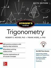 Schaum's Outline of Trigonometry (Paperback or Softback)