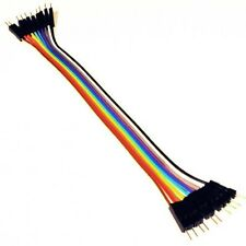 10 pin Dupont Male to Male Jumper 20 cm Ribbon Cable Breadboard Arduino ARM C509