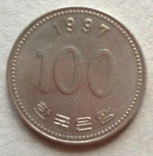 South Korea 100 Won 1997 coin