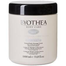 Neutral Massage Cream Body Fragrance Free 1Lt Byothea ® Senza Profumo Botanical