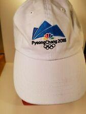 Official NBC PyeongChang 2018 Olympics Baseball Cap Cotton White
