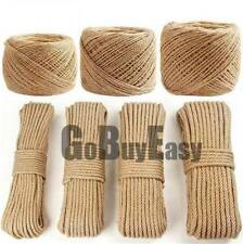 3-30mm Natural Jute Tu-go-fwar Binding Rope Braided Hemp Twisted