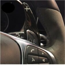 ONE Pair Carbon Shifter Paddles for A45 CLA45 GLA45 C63 S63 AMG From 2015-17