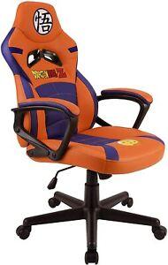 Subsonic Dragonball Z Kids Gaming Chair Bucket Seat Junior Kids Bedroom Office