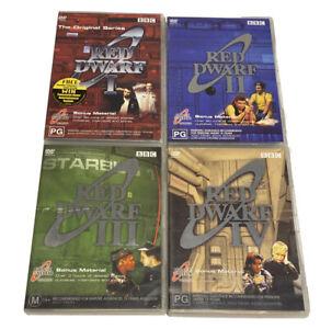 Red Dwarf Series 1-4 Dvd BBC Region 4