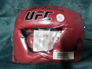 AMANDA NUNES Autographed UFC SIGNED MMA CHAMPIONS HEADGEAR JSA Authentic