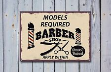 Friseur Ladenschild,Metallschild,Barbier Zeichen,Vintage Stil, Barbier, 518