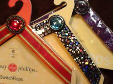 LINDSAY PHILLIPS SWITCHFLOP STRAPS Size S lot of 3  for Switch Flops Sandals