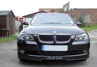 BMW E90, E91 FRONT BUMPER SPOILER / SKIRT / LIP  - ALPINA LOOK !!! NEW !!!
