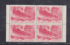 State Hunting/Fishing Revenues - NJ - 1967 Trout Stamp - NR ($5) Block/4 - MNH