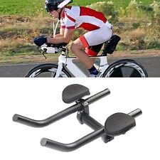 New listing Ultralight Triathlon Bike Arm Rest Bar MTB Bicycle Cycling Racing Aero Bar