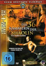 The 36 Chambers of Shaolin , 100% uncut , DVD Region2 , new and sealed