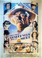 Plakat Kino Rendez Vous Avec La Tod Agatha Christie 120 X 160 CM
