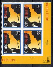 Sc# 3938 37 Cent Child Health (2005) MNH PB/4 P# V1111 LR CV $3.00