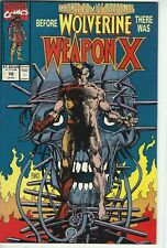Marvel Comics Presents #72, Wolverine Weapon X, Marvel Comics, NM- Quality