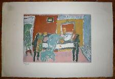 Jean Pougny Lithographie sur velin art abstrait abstraction artiste Russe
