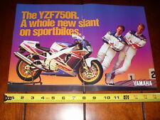 1994 YAMAHA YZF750R - ORIGINAL 2 PAGE AD