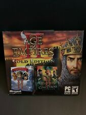 Age of Empires II Gold Edition PC New Sealed