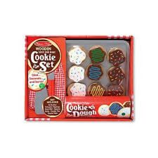 Wooden Slice and Bake Cookie Set