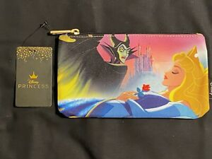 Disney Employee Center DEC Loungefly Sleeping Beauty Maleficent Pouch LE600