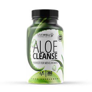 Aloe Vera Colon Cleanse Capsules – Weight loss - Fat burn Slimming Diet Pills UK