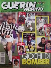 Guerin Sportivo 15 1996 [gs.25] Giochi di Bomber Gianluca Vialli Batistuta Ravan