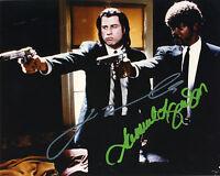 REPRINTJOHN TRAVOLTA SAMUEL L. JACKSON Pulp Fiction autograph signed photo