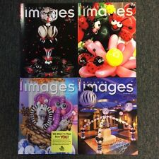 COMPLETE 2014 SET OF QUALATEX BALLOON IMAGES MAGAZINE / 4 ISSUES