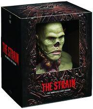 THE STRAIN : SEASON 1 collector's edition box set BLU RAY   - Sealed Region free