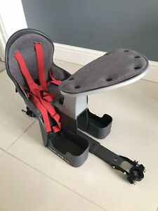 WeeRide Baby Child Bike Seat Grey, Used Excellent Condition
