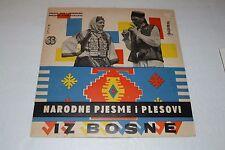 Narodne Pjesme I Plesovi~Iz Bosne I hercegovine~Yugoslavia~IMPORT~FAST SHIPPING
