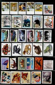 37-Cent United States 112 Stamps US 2001-2005 Used