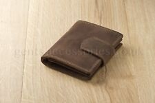 McLean Stylish Leather Quad Fold Brown Wallet