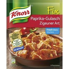 "4 Bags  x KNORR Fix (Paprika-Goulash ""Gipsy Style"") **The Original**"
