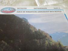 Alpenbahnen Westalpen K 3 Art Goldau Axenschlucht Erstfeld